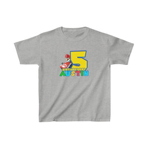 Super Mario Birthday Kids T-shirt - 4