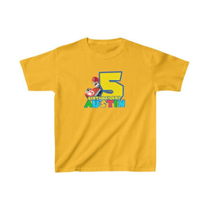 Super Mario Birthday Kids T-shirt - 5