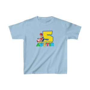Super Mario Birthday Kids T-shirt - 7