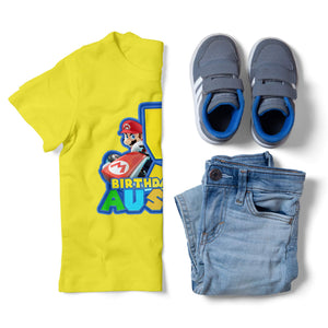 Super Mario Birthday Shirt - 3