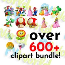 Load image into Gallery viewer, Super Mario Clipart - 2