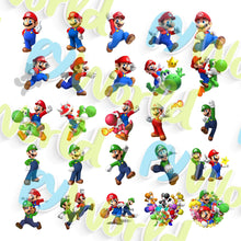Load image into Gallery viewer, Super Mario Clipart - 1