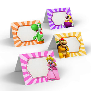 Super Mario Party Food Labels - 2