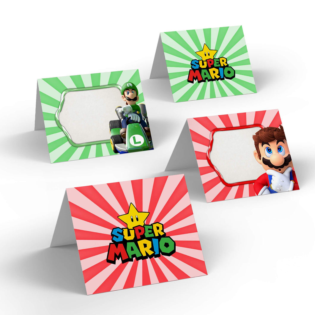 Super Mario Party Food Labels - 1