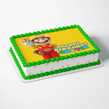 Load image into Gallery viewer, Super Mario Yellow Cake Toppers - 4