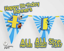 Load image into Gallery viewer, Toy Story 4 Birthday Banners - 7