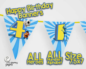 Toy Story 4 Birthday Banners - 7