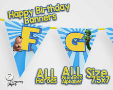 Load image into Gallery viewer, Toy Story 4 Birthday Banners - 8