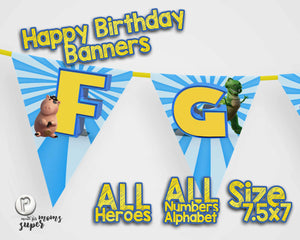 Toy Story 4 Birthday Banners - 8