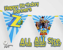 Load image into Gallery viewer, Toy Story 4 Birthday Banners - 3
