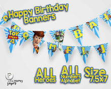 Load image into Gallery viewer, Toy Story 4 Birthday Banners - 2