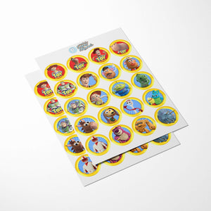 Toy Story 4 Cupcake Toppers - 2