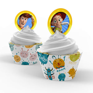 Toy Story 4 Cupcake Toppers - 1