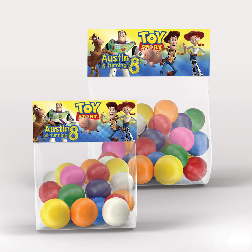 Toy Story 4 Treat Bag Toppers - 1