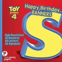 Load image into Gallery viewer, Toy Story Birthday Banners - 1