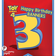 Load image into Gallery viewer, Toy Story Birthday Banners - 2