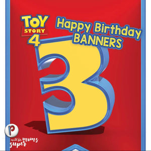 Toy Story Birthday Banners - 2