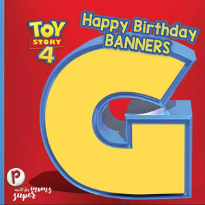 Toy Story Birthday Banners - 3