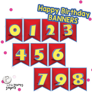 Toy Story Birthday Banners - 4