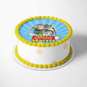Toy Story Buzz Cake Toppers - 2