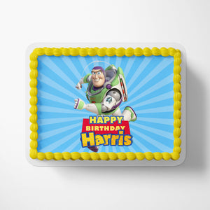 Toy Story Buzz Cake Toppers - 3