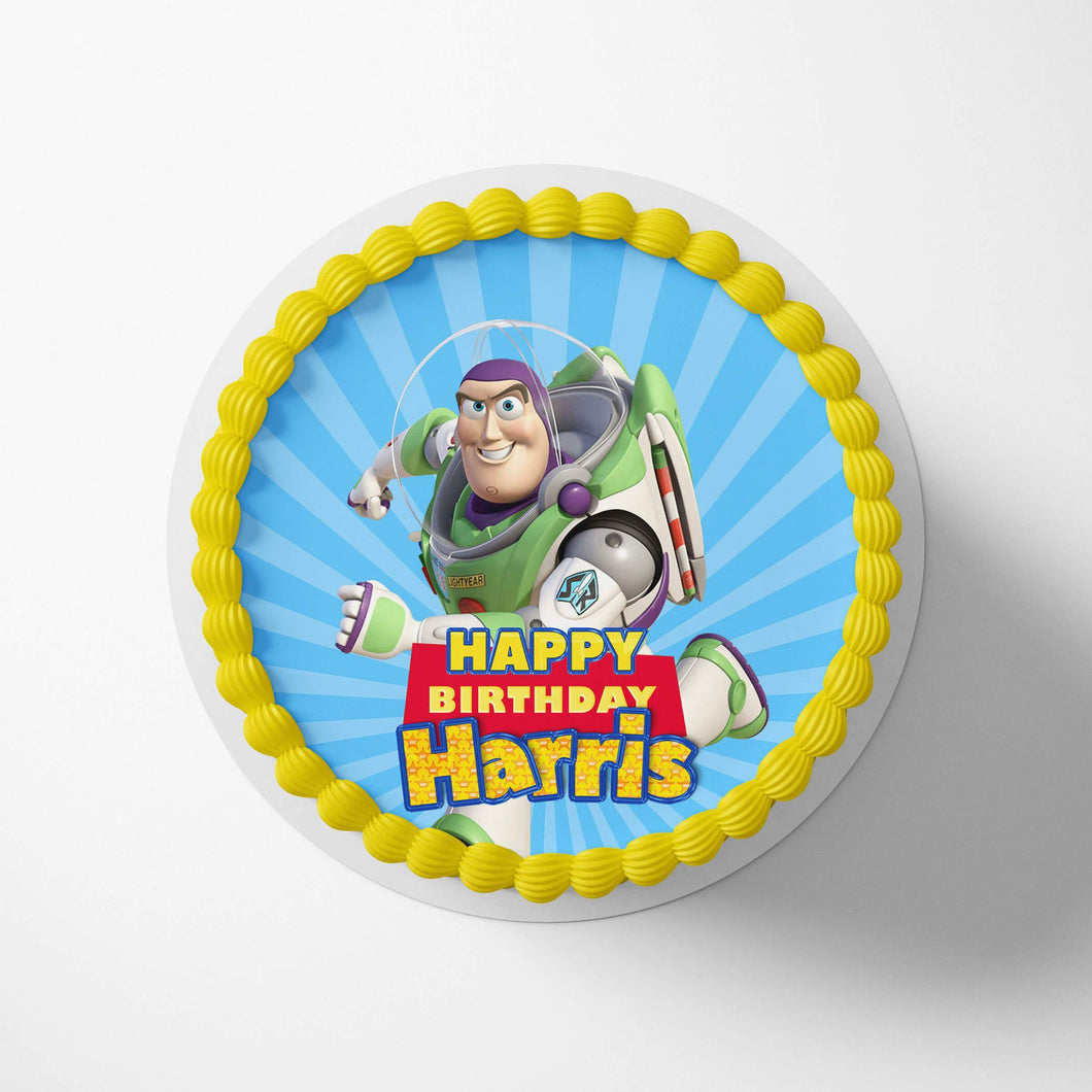 Toy Story Buzz Cake Toppers - 1