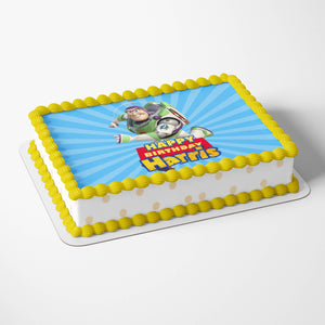 Toy Story Buzz Cake Toppers - 4