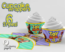 Load image into Gallery viewer, Toy Story Cupcake Wrappers - 2