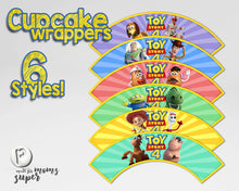 Load image into Gallery viewer, Toy Story Cupcake Wrappers - 4
