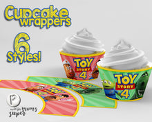 Load image into Gallery viewer, Toy Story Cupcake Wrappers - 3