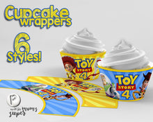 Load image into Gallery viewer, Toy Story Cupcake Wrappers - 1