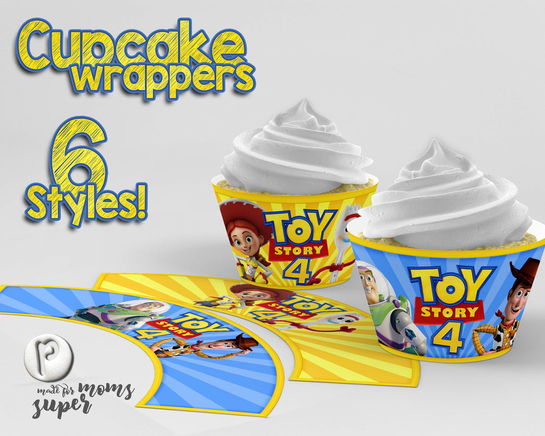 Toy Story Cupcake Wrappers - 1