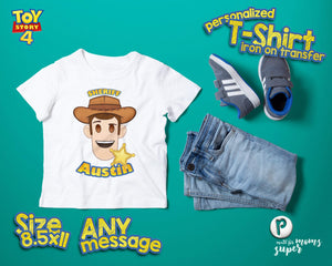 Toy Story Woody Birthday Shirt - 1
