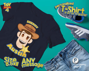 Toy Story Woody Birthday Shirt - 2