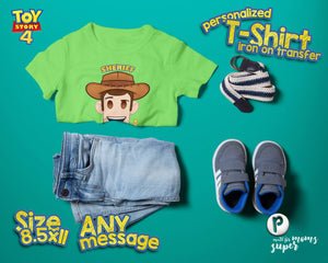 Toy Story Woody Birthday Shirt - 3