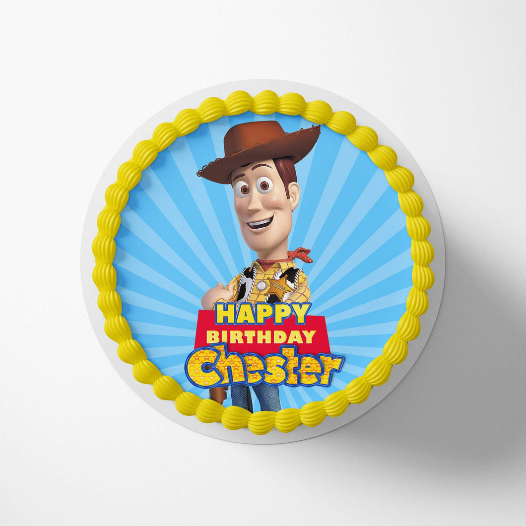 Toy Story Woody Cake Toppers - 1