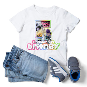 Trolls World Tour Birthday Shirt - 1