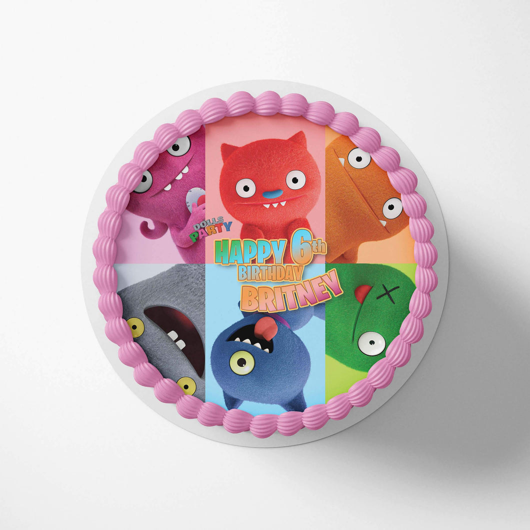 Ugly Dolls Birthday Cake Toppers - 1