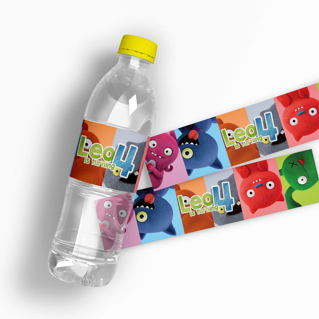 UglyDolls Water Bottle Labels - 1