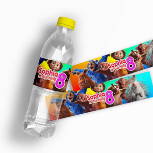 Wonder Park Water Bottle Labels - 1