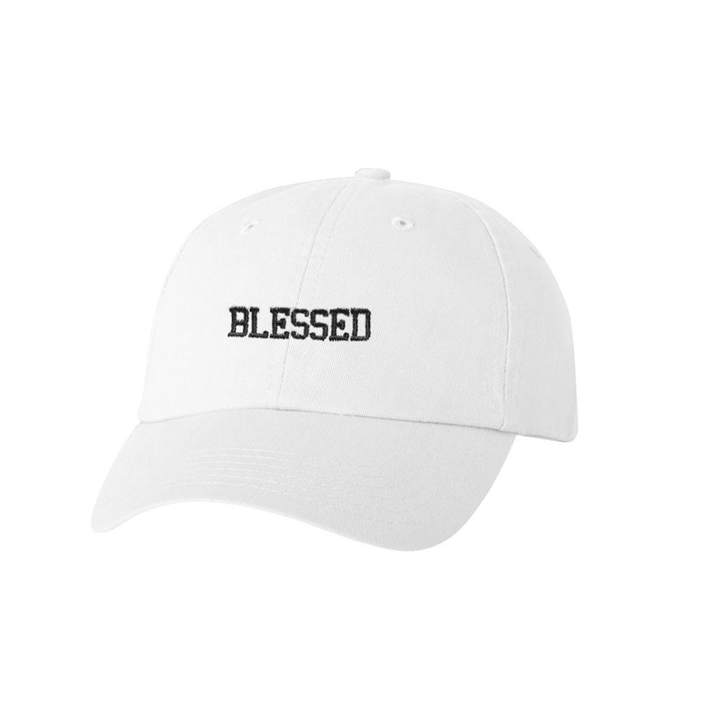 Blessed Dad Hat (White)