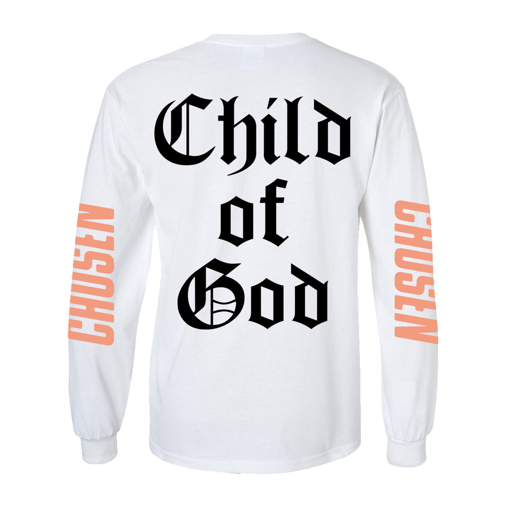 Chosen Child of God Long Sleeve (White)