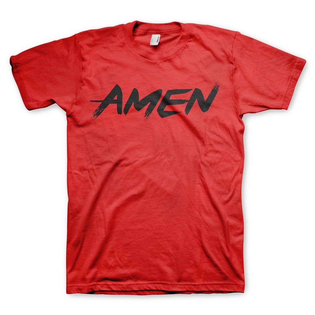 Amen Tee (Red)