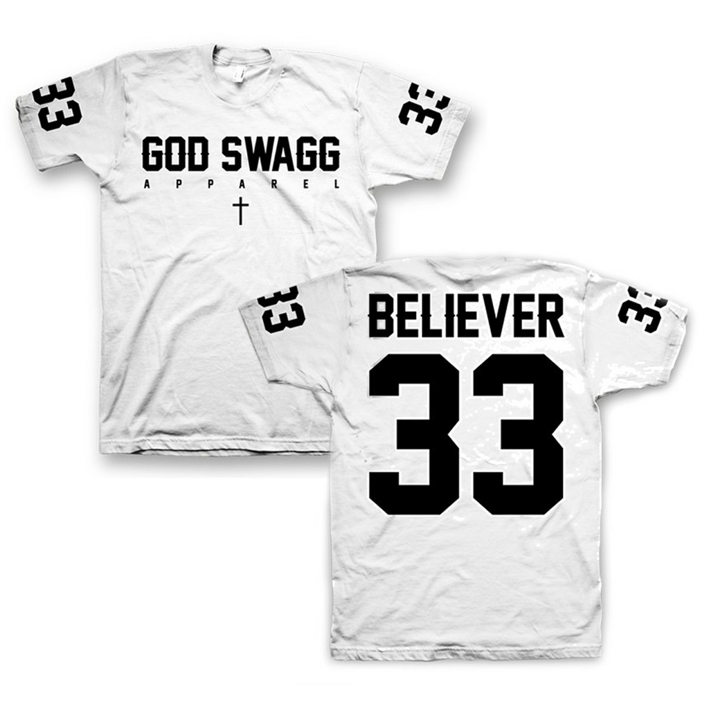 Believer Jersey Tee (White)