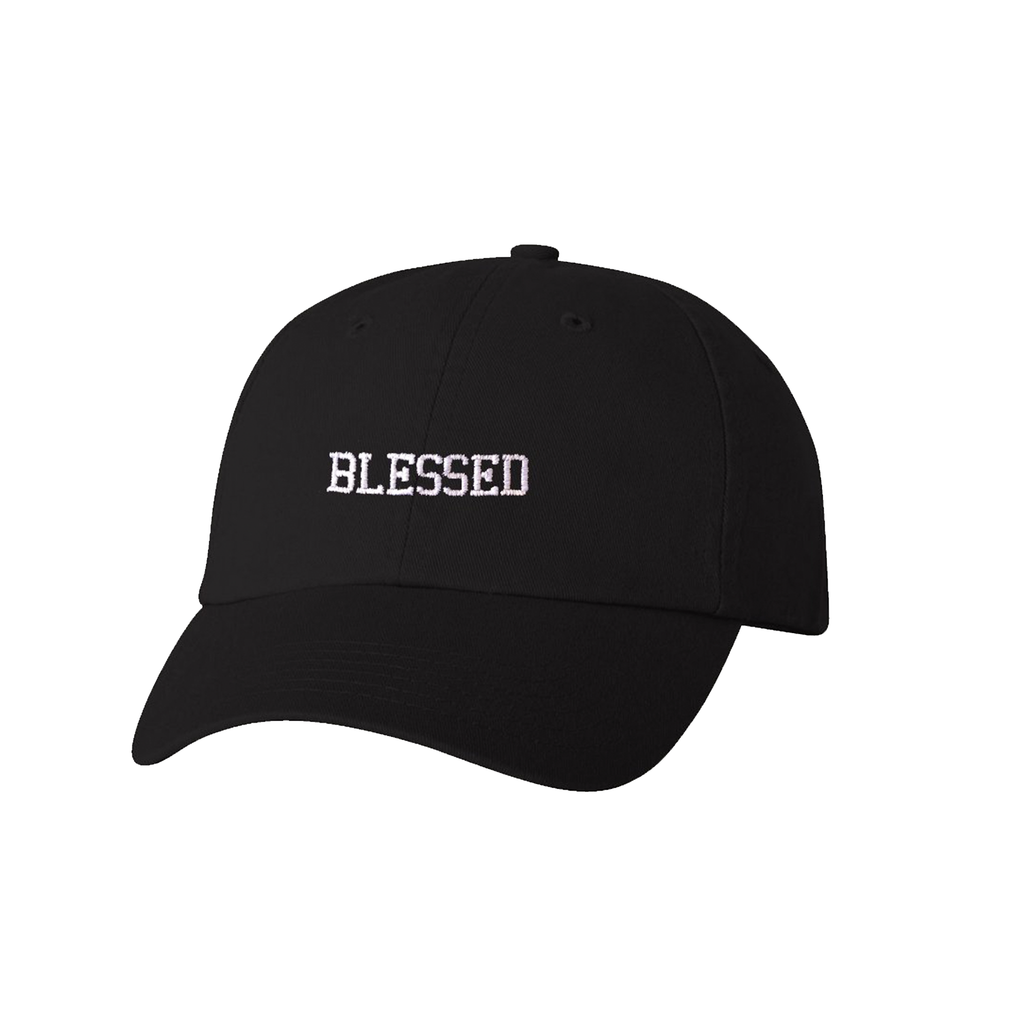Blessed Dad Hat (Black)