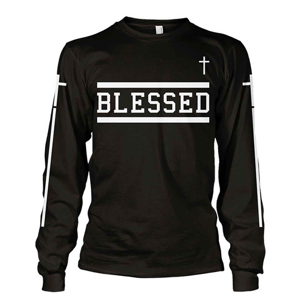Blessed Long Sleeve (Black)