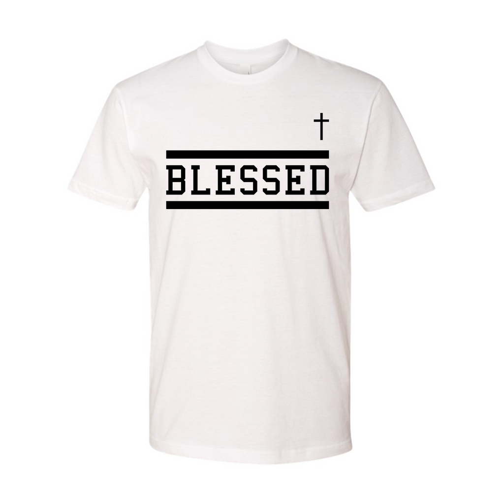 Blessed Tee White GSA X Hallow Collab (Pre-Order)
