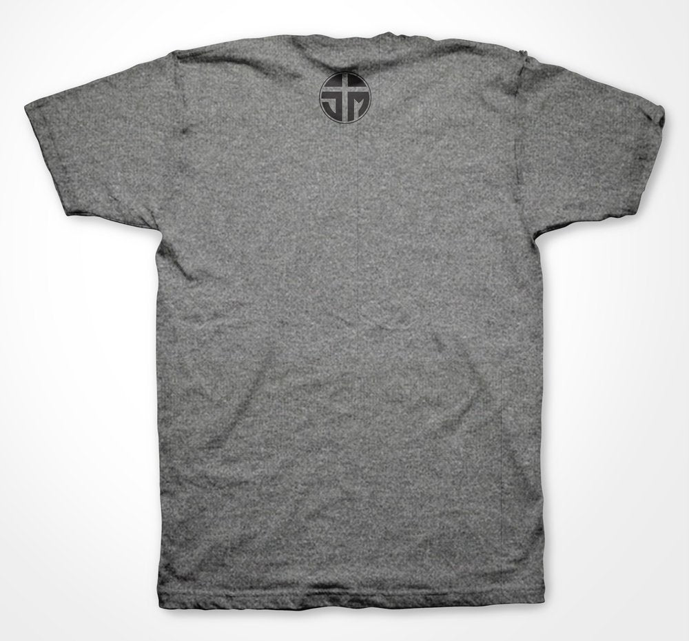 Blessed Tee (Heather Grey Tri-Blend)