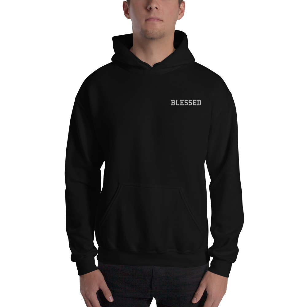 Blessed Embroidered Hoodie