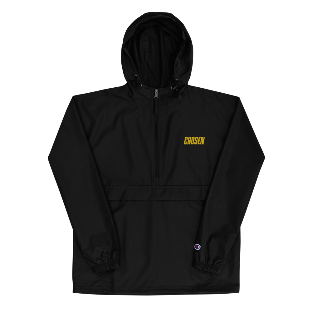 Chosen Embroidered Champion Packable Jacket